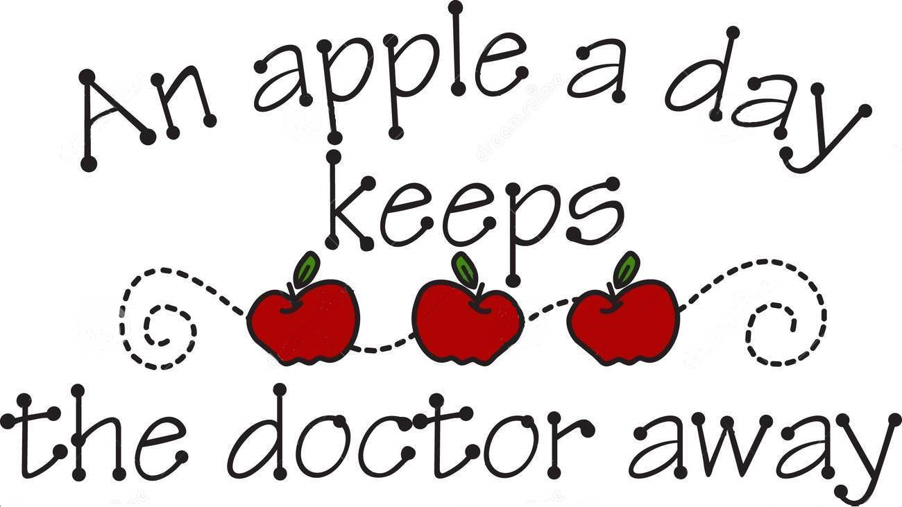 a apple a day keeps the doctor away
